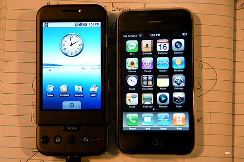 iPhone vs Android, AT&T vs Verizon